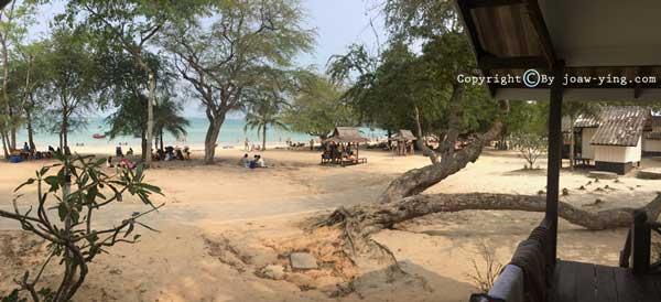 ทีพักหาดทรายแก้วสัตหีบ