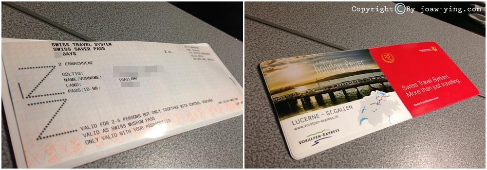 ตั๋วสวิสพาส Swisspass