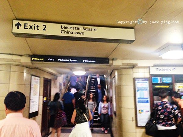 สถานีรถไฟใต้ดินประเทศอังกฤษ